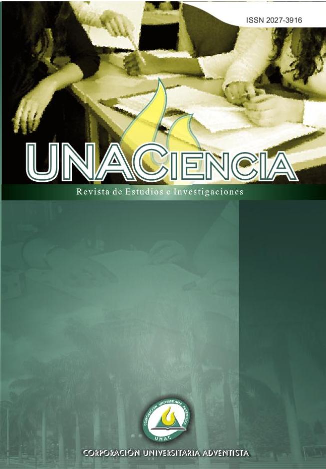 Ver Vol. 8 Núm. 14 (2015): UNACIENCIA